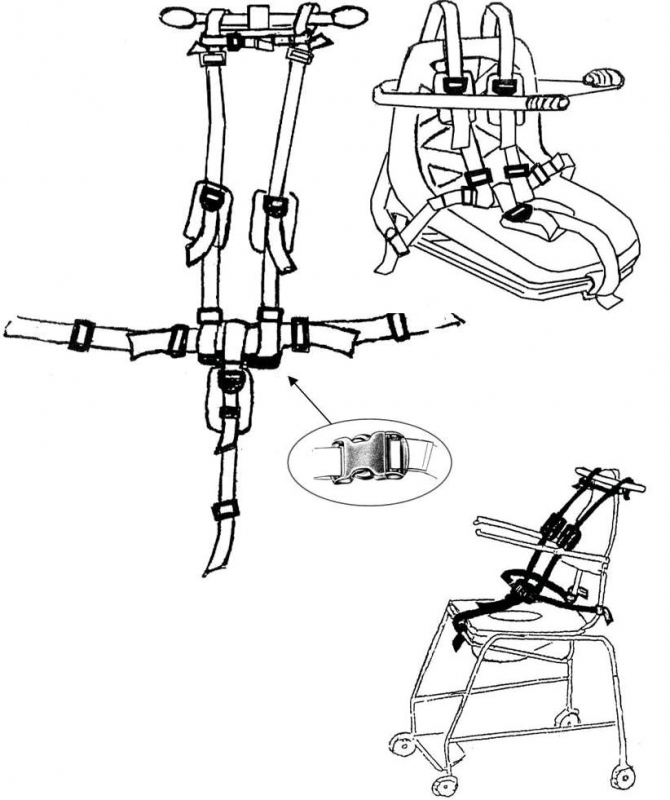 Autolift Belt Harness