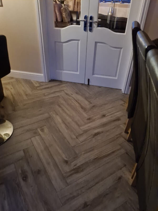 New Flooring in Living Room