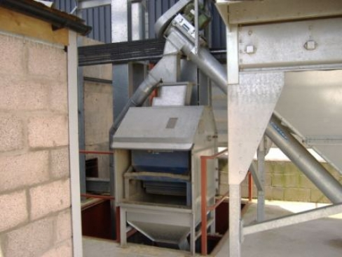 Svegma Grain Drier with Kongskilde Weigher - DMI Mechanical