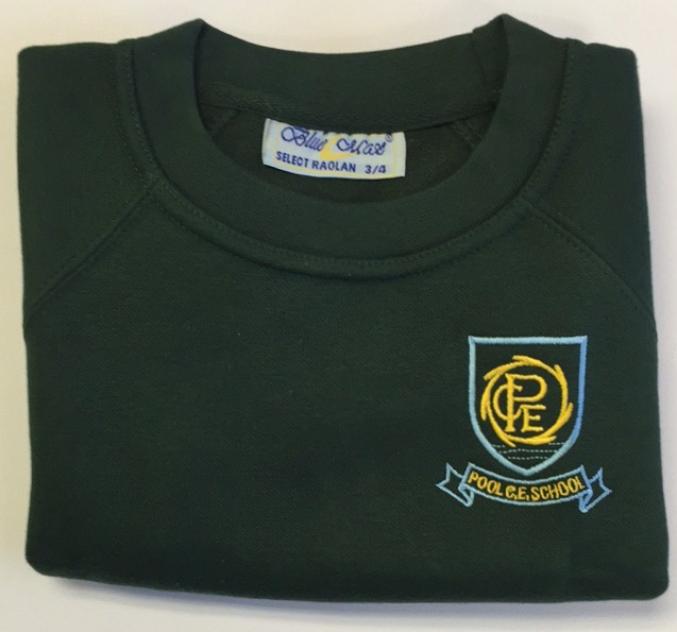 Crew neck sweatshirt jr sports for Ashfield swimming pool opening hours