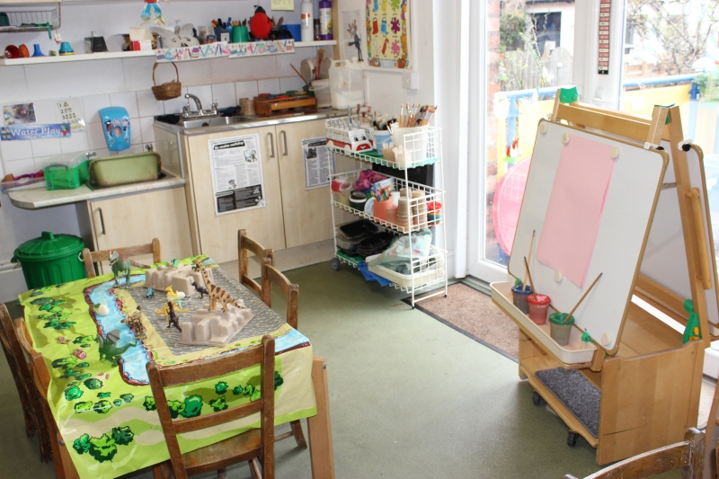 Arts and crafts area