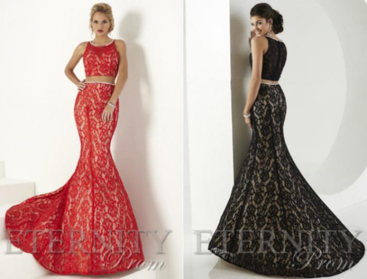 Seasonal prom dresses