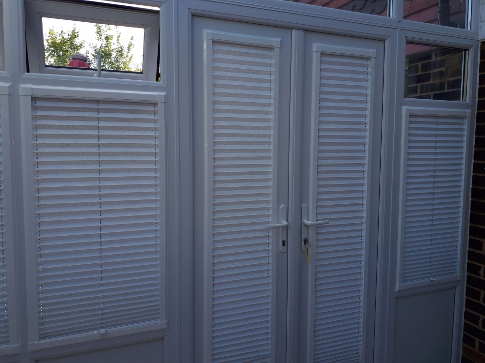 Windows with Perfect Fit Blinds