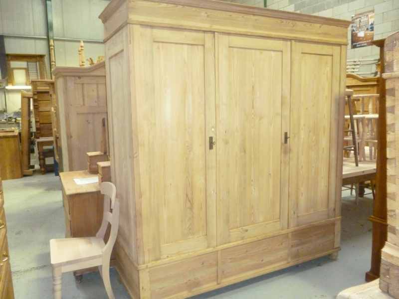 Antique Triple Wardrobe Antique Furniture