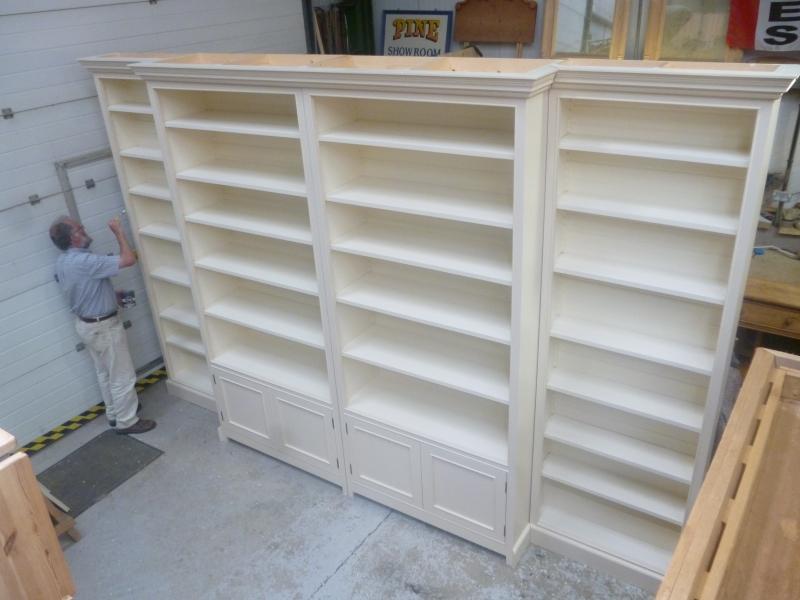 Bookcases Yorkshirepine Co Uk Home Of Pond Cottage Antiques