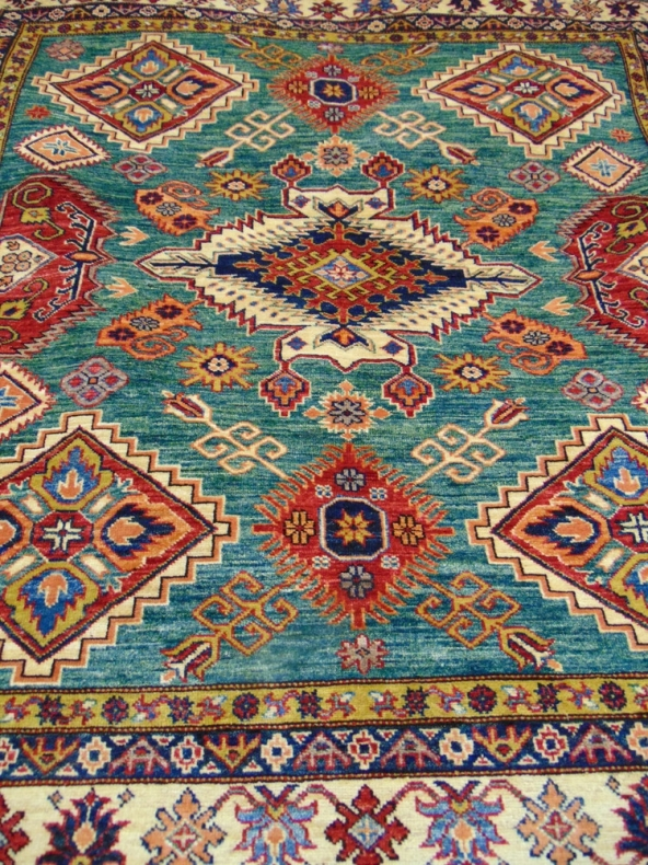 Afghan Kazak Carpets In Pembrokeshire Wales Uk Zargos Persian