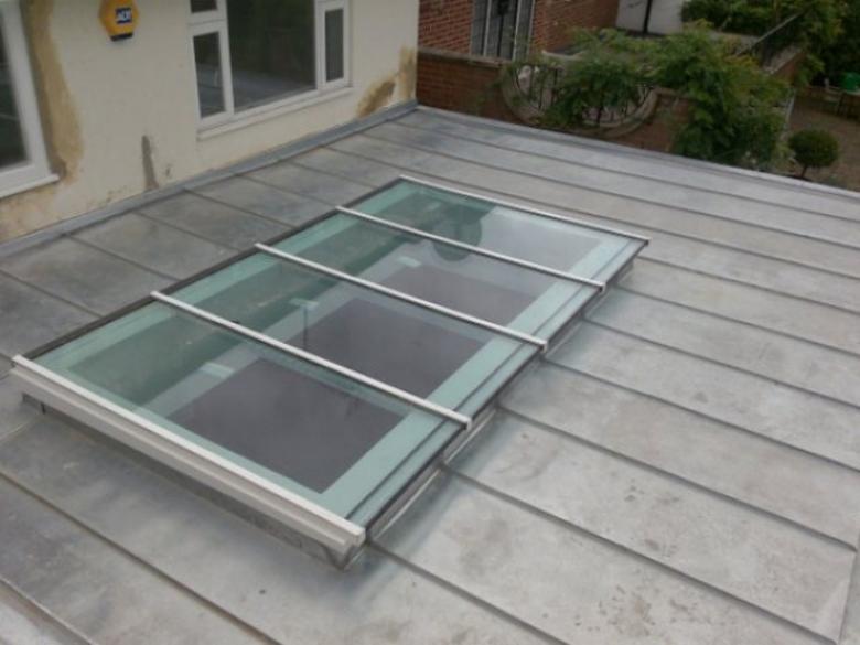 Zinc Roofing Skylight Surrey Eco Roofing