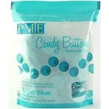 Candy Buttons- Light Blue