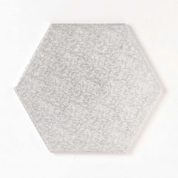 Silver hexagonal board 8