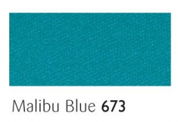 Malibu Blue 25mm ribbon - 20 meter reel