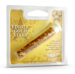 Rainbow Dust Edible Gold Stars