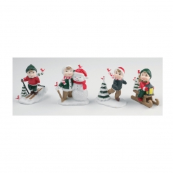 Assorted Christmas figures - 65mm
