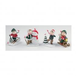 Assorted Christmas figures - 65mm