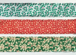 Traditional Christmas foil frills Assorted