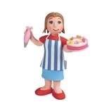 Claydough Lady Cake Maker