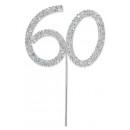 Diamante 60 On A Silver Stem