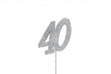 Glitter Number 40