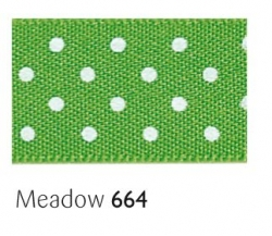 Medow 15mm micro dot ribbon - 20 meter