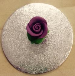 Burgundy 3cm Rosebud