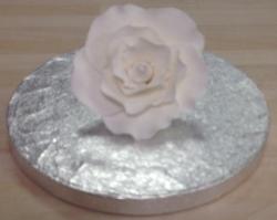 White 7cm Rose