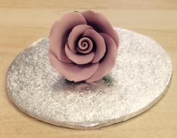 Lavender 4cm Rosebud