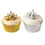 Gold & Silver Coloured Crown Rings