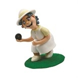 Claydough Lady Crown Green Bowler