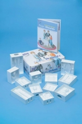 12 piece people mould set