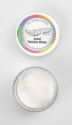 Rainbow Dust Sparkle Twinkle White