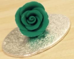 Turquoise Medium Rosebud