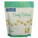 Candy Buttons-Choc White