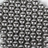 10mm Silver Dragees