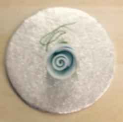 Baby Blue 3.5cm Rosebud