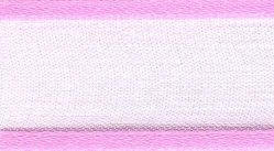 25mm pink organza ribbon - 25 meter reel