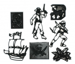 7 piece pirate set