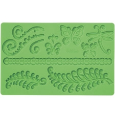 Fondant and Gum paste moulds - Fern