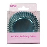 45 Foil Baking Cases - Blue