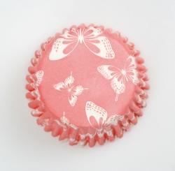 54 x Dark pink (Blush) cases - 50mm