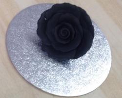 Black 4cm Rosebud