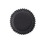 50 Coloured Baking Cases - Black
