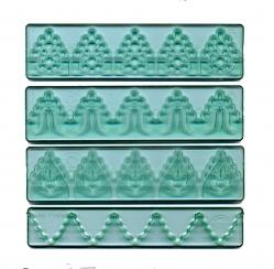 Textured lace Set 4 piece set