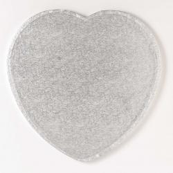 Silver heart board - 10
