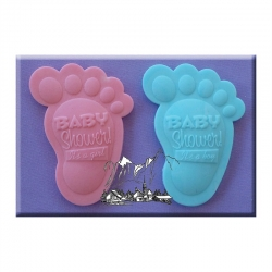 Baby shower feet moulds