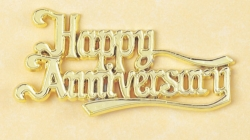 Happy anniversary Motto - 76mm
