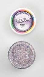 Rainbow Dust Sparkle Pastel Lilac