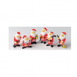 Assorted Santa figures - 40mm
