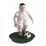 Footballer- White Strip