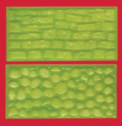 Cobble stones & Stone wall impression pads