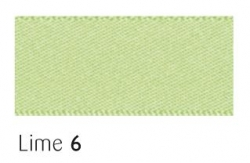 Lime 25mm ribbon - 20 meter reel