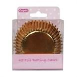45 Foil Baking Cases - Gold